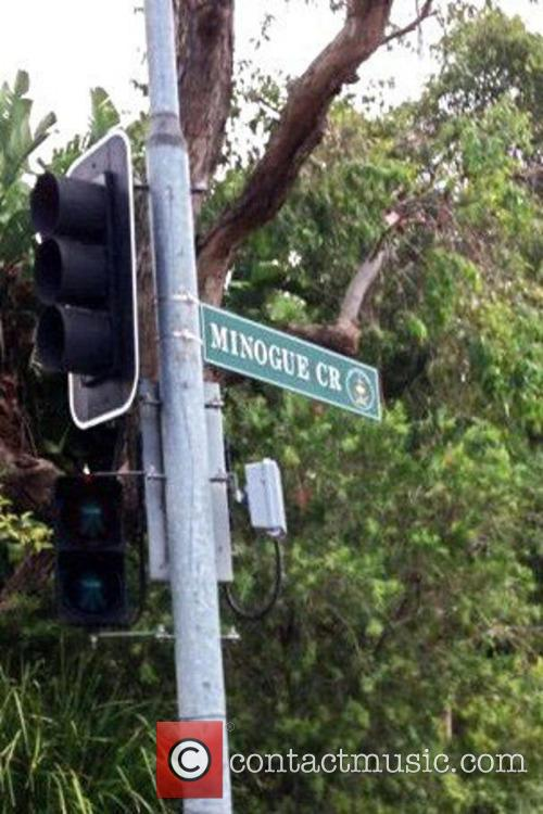 Twitter Dannii Minogue Road Sign