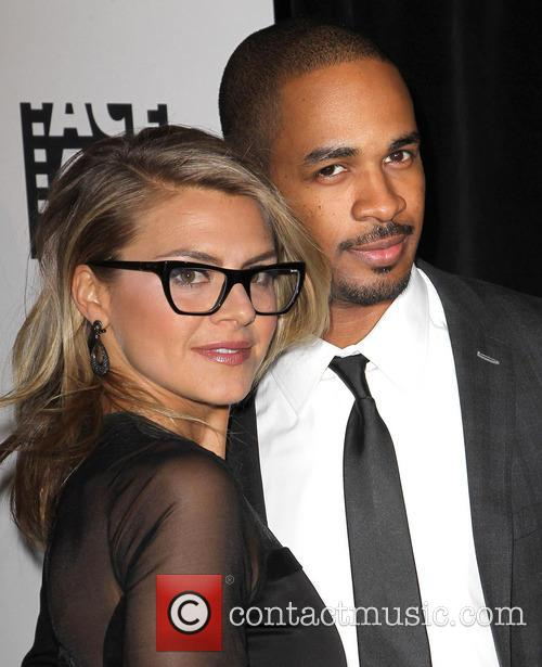 Damon Wayans, Jr and Eliza Coupe 1