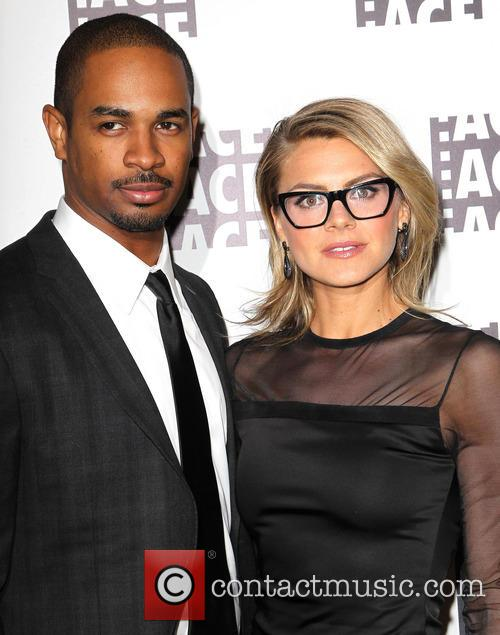 Damon Wayans, Jr and Eliza Coupe 6