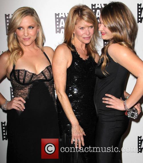 Jessica Capshaw, Kate Capshaw and Sasha Spielberg 7