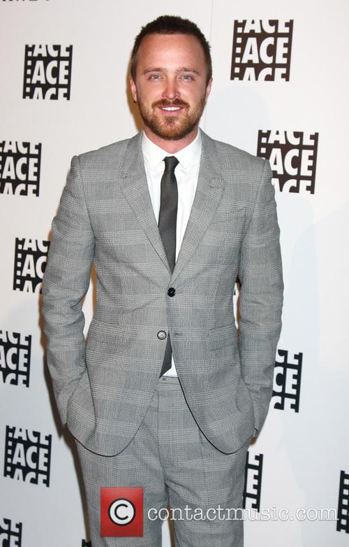 Aaron Paul, Beverly Hilton Hotel