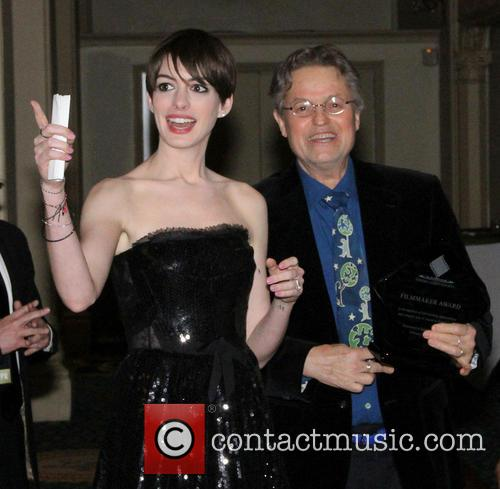 Anne Hathaway and Jonathan Demme 6