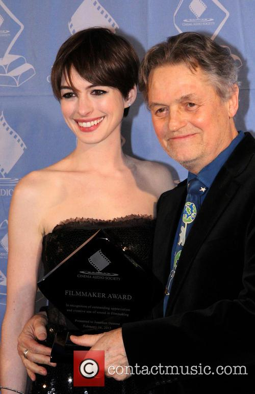 Anne Hathaway and Jonathan Demme 7