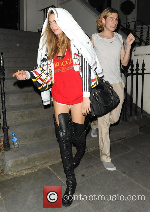 Notting Hill and Cara Delevingne