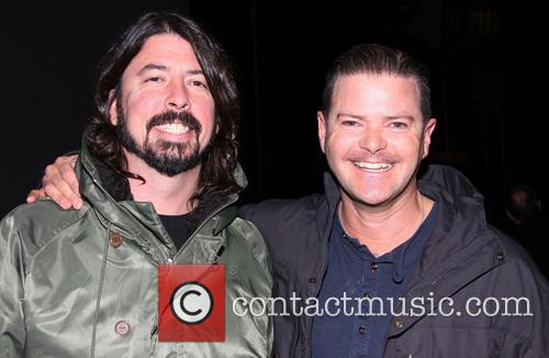 Dave Grohl and Clarke Thorell 3