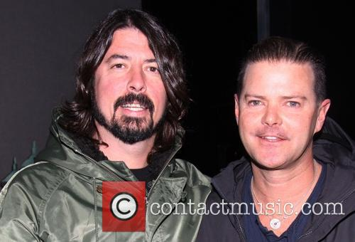 Dave Grohl and Clarke Thorell 4