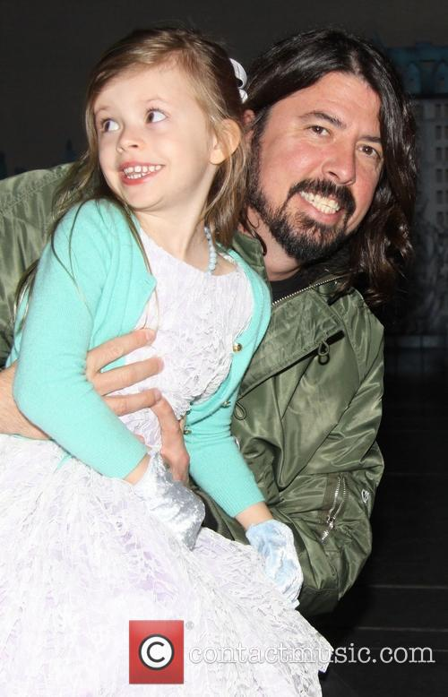 Harper Grohl and Dave Grohl 3