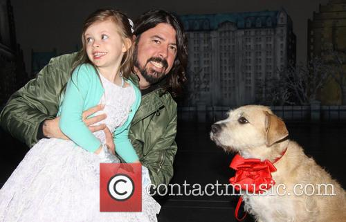 Harper Grohl, Dave Grohl and Sunny 2