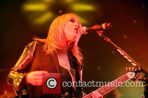 Grace Potter & the Nocturnals performing live at...