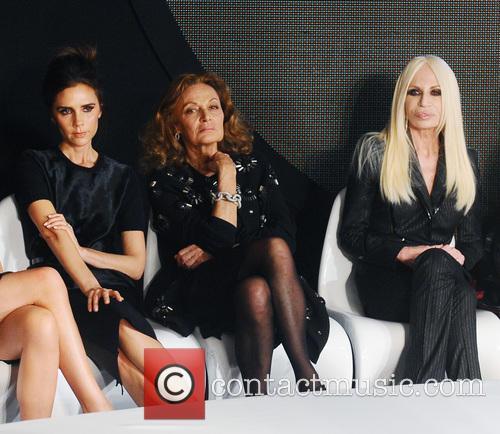 Victoria Beckham, Diane Von Furstenberg and Donatella Versace 2