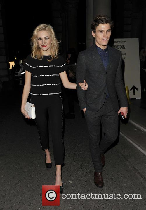 Pixie Lott and Oliver Cheshire 11