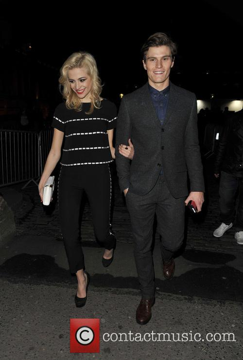 Pixie Lott and Oliver Cheshire 17