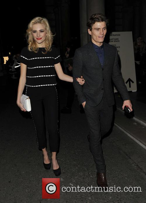 Pixie Lott and Oliver Cheshire 18