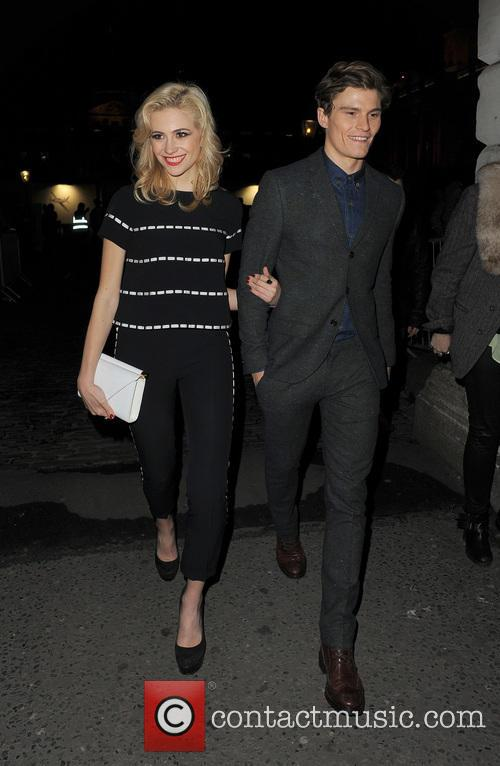 Pixie Lott and Oliver Cheshire 9