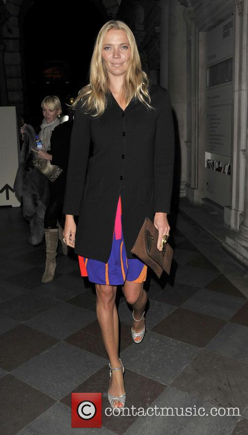 Jodie Kidd, London Fashion Week
