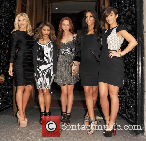 Mollie King, Vanessa White, Una Healy, Rochelle Wiseman, Frankie Sandford and The Saturdays 1