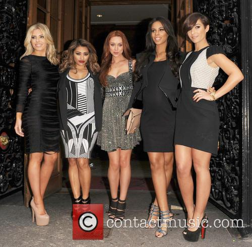 Mollie King, Vanessa White, Una Healy, Rochelle Wiseman, Frankie Sandford and The Saturdays 7