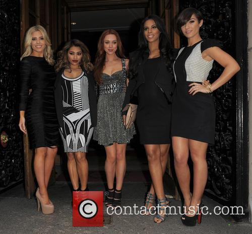 Mollie King, Vanessa White, Una Healy, Rochelle Wiseman, Frankie Sandford and The Saturdays 3