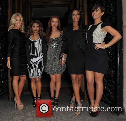 Mollie King, Vanessa White, Una Healy, Rochelle Wiseman, Frankie Sandford and The Saturdays 4