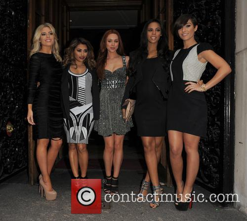Mollie King, Vanessa White, Una Healy, Rochelle Wiseman, Frankie Sandford and The Saturdays 5