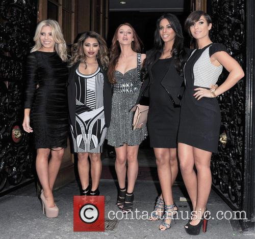 Mollie King, Vanessa White, Una Healy, Rochelle Humes, Frankie Sandford and The Saturdays 2