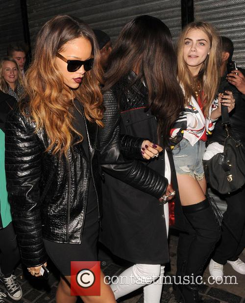 Rihanna and Cara Delevingne 6