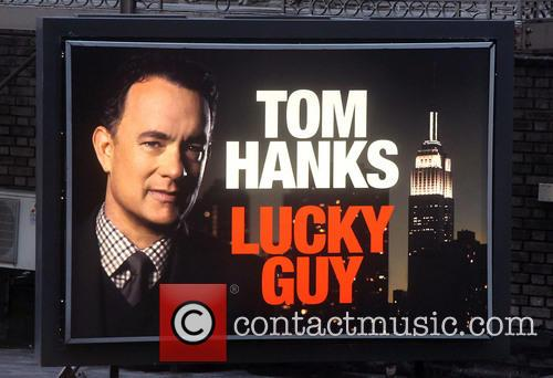 Tom Hanks 'Lucky Guy' advertisement