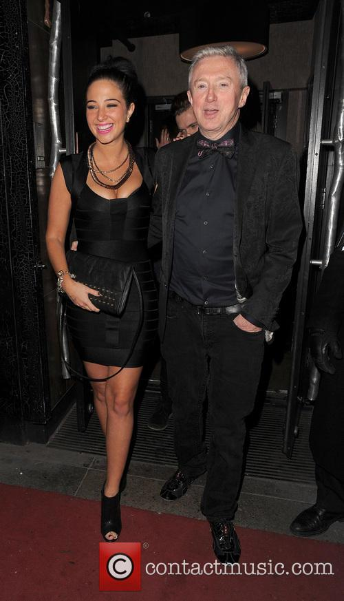 Tulisa Contostavlos and Louis Walsh 3