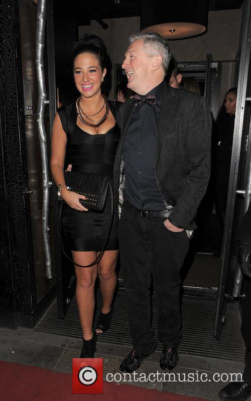 Tulisa Contostavlos and Louis Walsh 6