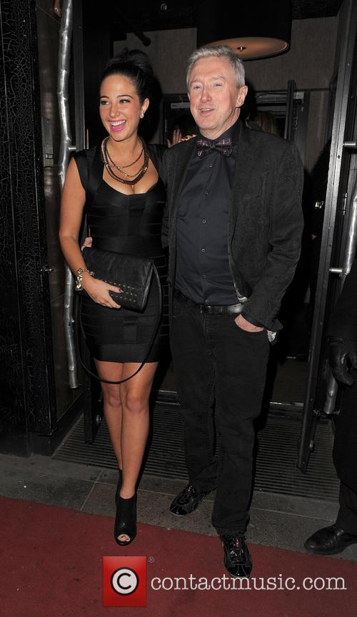 Tulisa Contostavlos and Louis Walsh 9