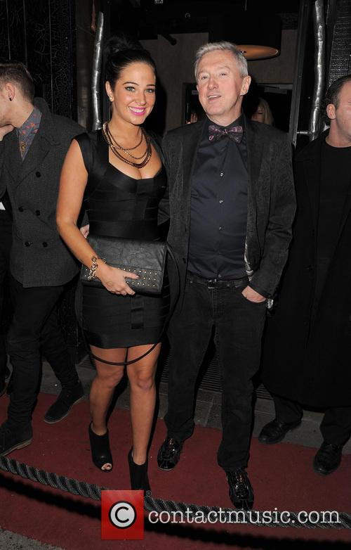 Tulisa Contostavlos and Louis Walsh 11
