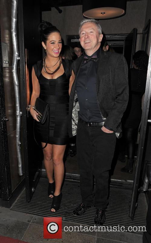 Tulisa Contostavlos and Louis Walsh 7
