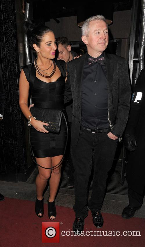 Tulisa Contostavlos and Louis Walsh 8