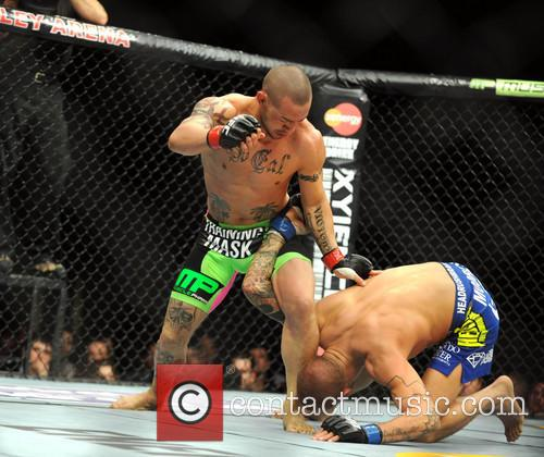 Dustin Poirier and Cub Swanson 4