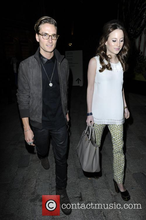 Oliver Proudlock, Rosie Fortescue, London Fashion Week