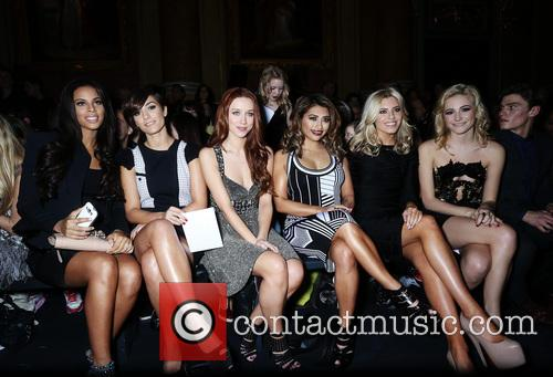 Rochelle Humes, Rochelle Wiseman, Frankie Sandford, Una Healy, Vanessa White, Mollie King, The Saturdays and Pixie Lott 2