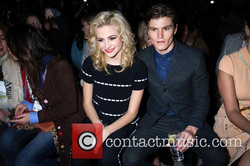 Pixie Lott and Oliver Cheshire 1