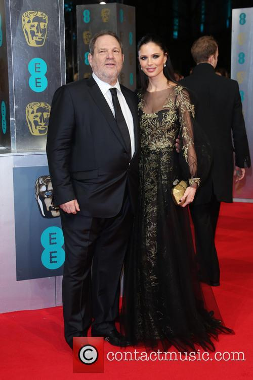 Georgina Chapman, Harvey Weinstein, British Academy Film Awards