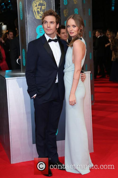 Sam Clafin, Laura Haddock, British Academy Film Awards