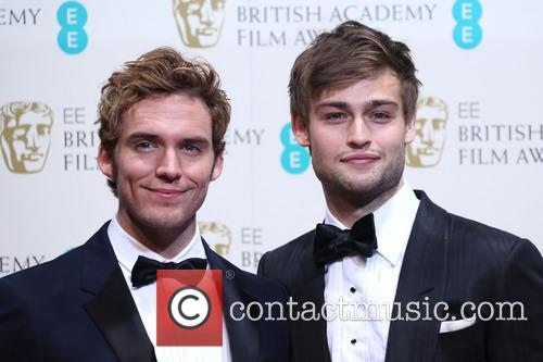 Sam Clafin and Douglas Booth 2