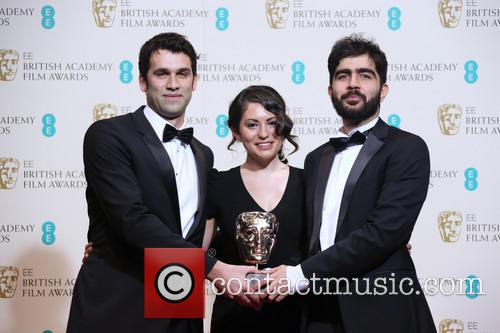 James Walker, Sarah Woolner and Yousif Al-khalifa 4