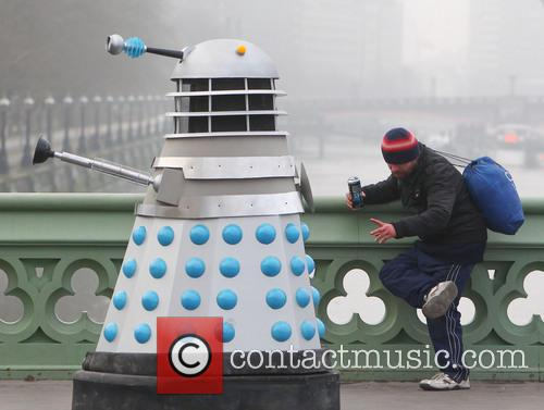 Filming, Westminster Bridge, Doctor Who, An Adventure and Time And Space 3