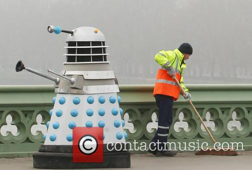 Filming, Westminster Bridge, Doctor Who, An Adventure and Time And Space 5