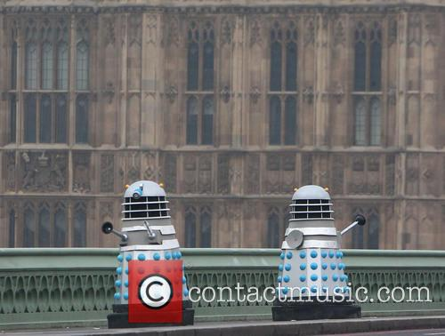 Filming, Westminster Bridge, Doctor Who, An Adventure and Time And Space 8