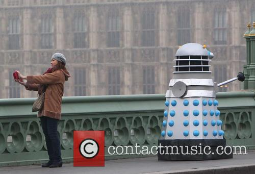 Filming, Westminster Bridge, Doctor Who, An Adventure and Time And Space 9