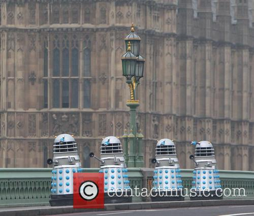 Filming, Westminster Bridge, Doctor Who, An Adventure and Time And Space 10