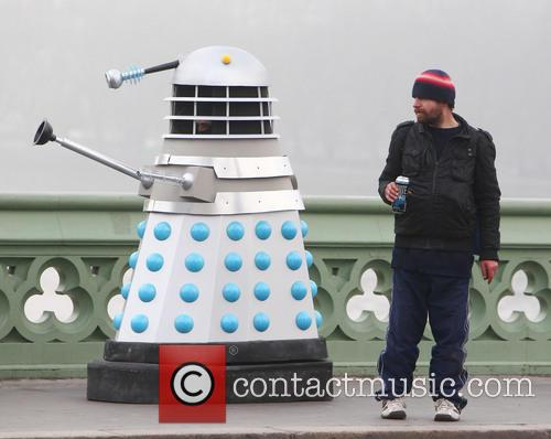 Filming, Westminster Bridge, Doctor Who, An Adventure and Time And Space 15