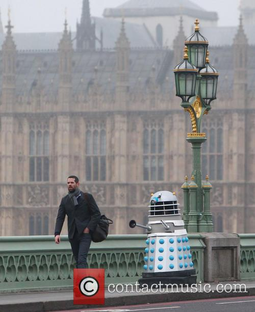 Filming, Westminster Bridge, Doctor Who, An Adventure and Time And Space 16