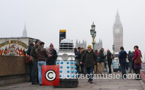 Filming, Westminster Bridge, Doctor Who, An Adventure and Time And Space 17