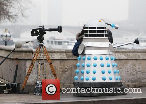 Filming, Westminster Bridge, Doctor Who, An Adventure and Time And Space